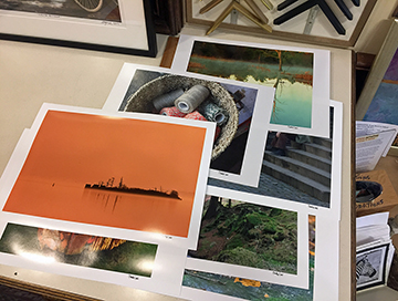 prints for exhibition